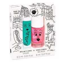 nailmatic-kids-boern-nail-polish-neglelak-lip-gloss-laebepomade-red-roed-glitter-green-groen