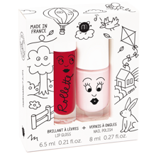 nailmatic-kids-kids-cottase-duo-pack-bella-cherry-neglelak-nailpolish-lipgloss-laebeglans-lyseoed-light-red-roed-red-boern-kids