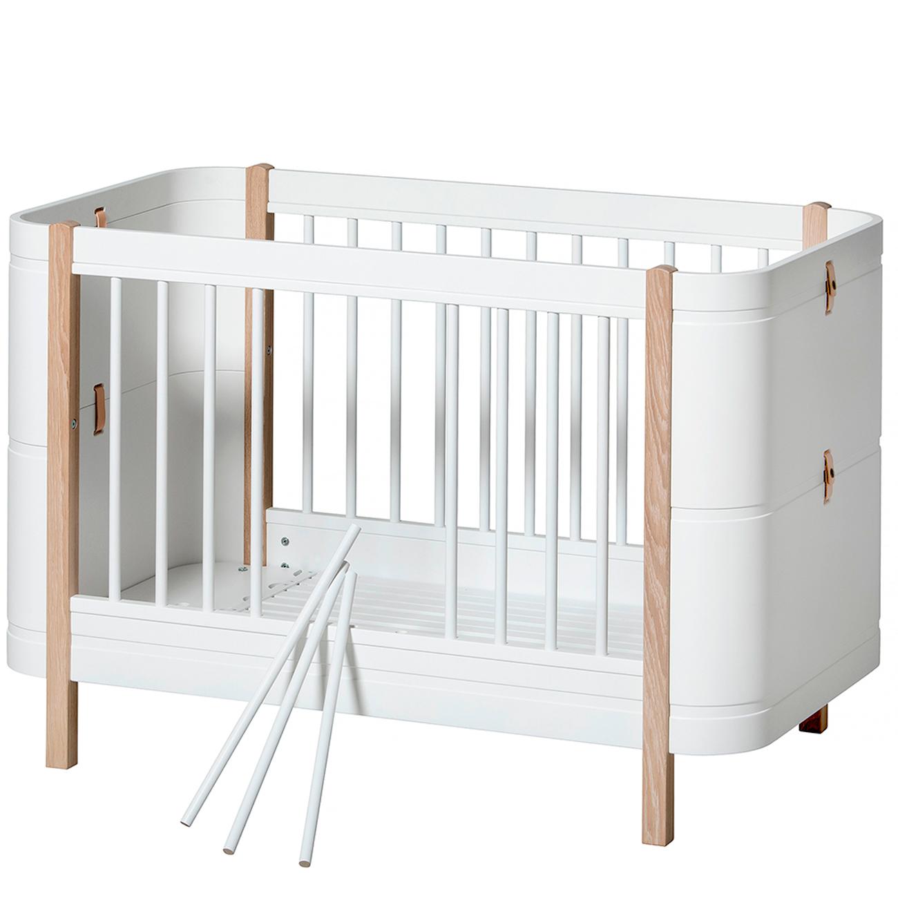 Picture of: Oliver Furniture Wood Mini Basic Hvid Eg