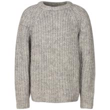 sofie-schnoor-strik-bluse-knit-sweater-grey-graa