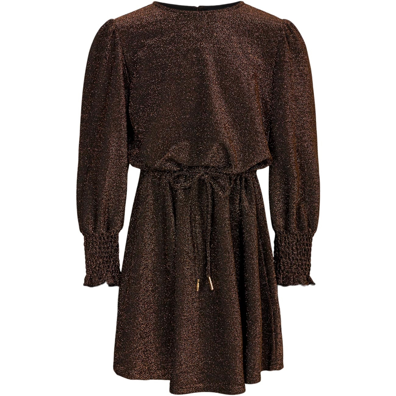 petit-by-sofie-schnoor-dress-kjole-kiara-brown-girl-pige