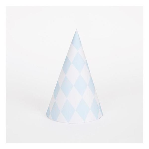 My Little Day Party hat Blue 8 stk