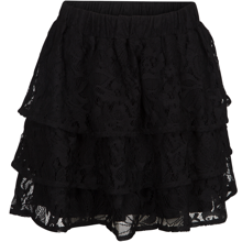 petit-by-sofie-schnoor-nederdel-skirt-flaese-blonde-lace-black-sort