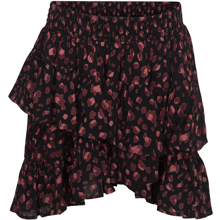 petit-by-sofie-schnoor-nederdel-skirt-flaese-sort-black-rose