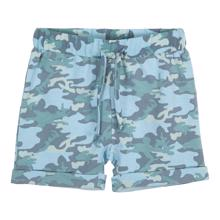 Petit by Sofie Schnoor Middle Blue Camo Shorts