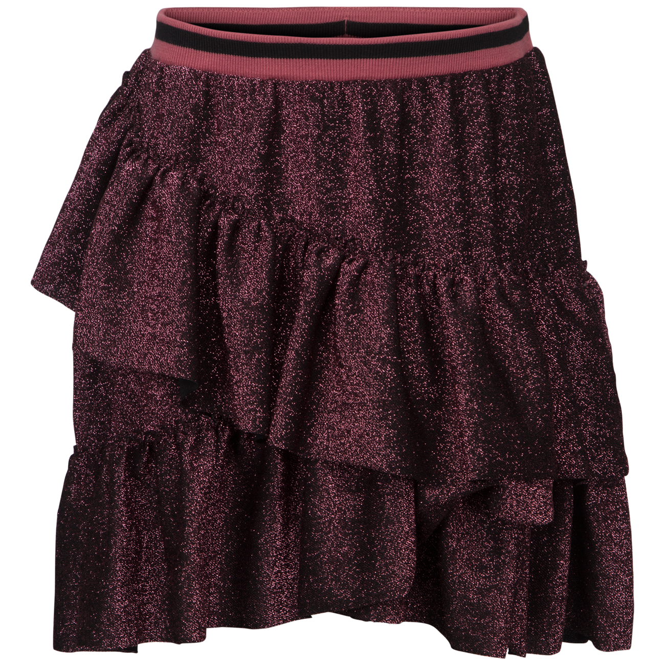 42ba71e3567 petit-by sofie-schnoor-skirt-nederdel-pink-black-glitter ...