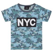 Petit by Sofie Schnoor Middle Blue Camo T-shirt