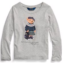 polo-ralph-lauren-bear-tee-top-ls-basic-grey-bluse-girl-pige