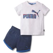 puma-alpa-minicats-white-blue-t-shirt-shorts-set