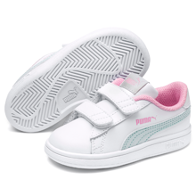 Puma Smash V2 L V Inf White Fair/Pale Pink