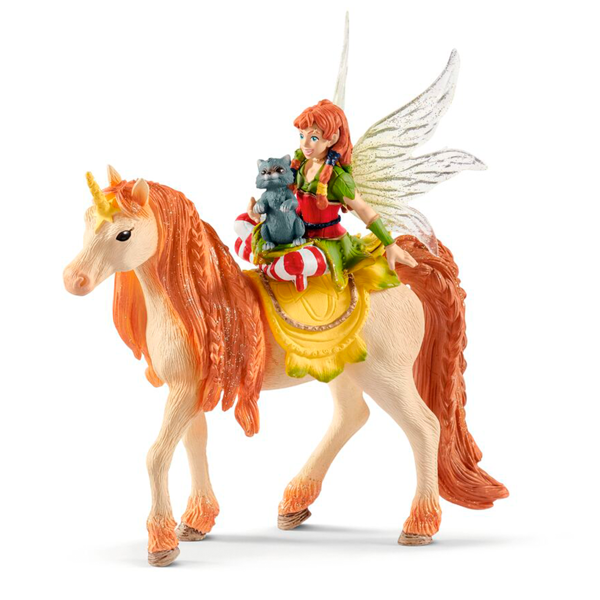 Schleich Bayaia Fairy Marween with Glitter Unicorn