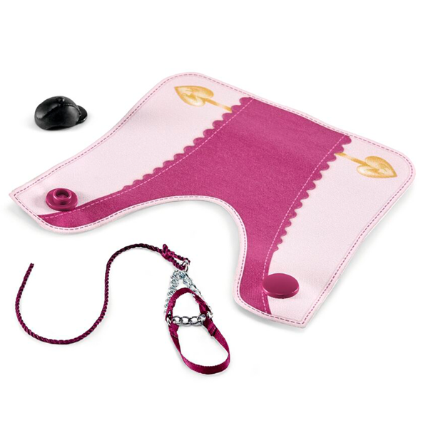 Schleich Horse Club Blanket and Halter Purple/Pink