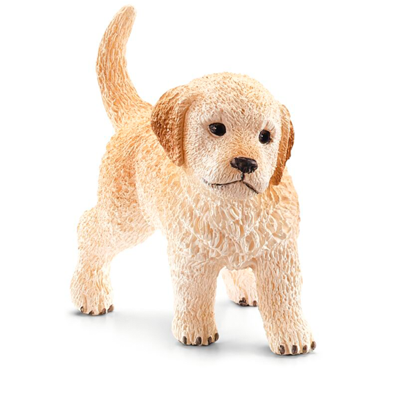 Schleich Farm World Golden Retriever Puppy