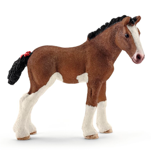 Schleich Farm World Clydesdale Horse Foal