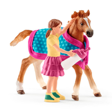 Schleich Horse Club Foal with Blanket