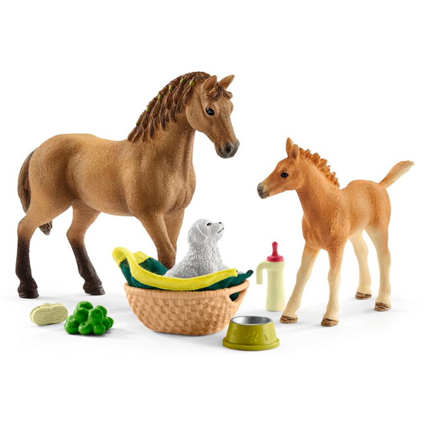 Schleich Horse Club Sarah\'s Baby Animal Care