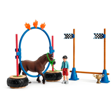 Schleich Farm World Pony Agility Race