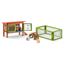 Schleich Farm World Rabbit Hutch