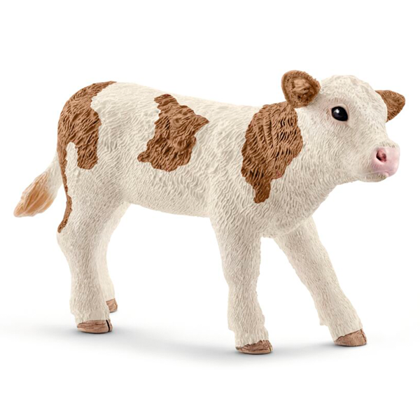 Schleich Farm World Simmental Kalv