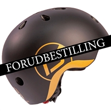 FORUDBESTILLING Scoot and Ride Limited Edition Highway Cykelhjelm Black/Gold