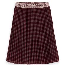 scotch-and-soda-nederdel-skirt-pleated-lurex-bordeaux-154349-218