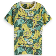 Scotch & Soda Allover Printed T-shirt