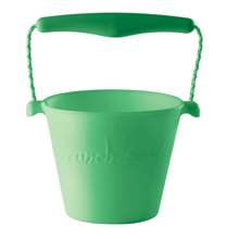 scrunch-bucket-pastelgreen-green-groen-spand-strandspand-play-toys-strandleg-beach-leg-1