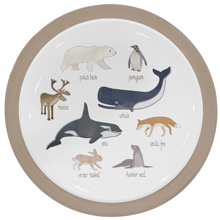sebra-tallerken-plate-arcticanimals-arctic-dyr-animals-eat-dinner-middag-1