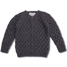 shirley-bredal-bubble-cardigan-dark-grey-boy-dreng-knit-girl-pige