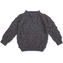shirley-bredal-strik-knit-uld-wool-bubble-sweater-grey-dark-melange