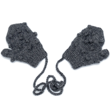 shirley-bredal-strik-knit-uld-wool-bubble-vanter-mittens-grey-graa