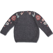 shirley-bredal-strik-knit-uld-wool-flora-blomster-flowers-sweater-grey-melange-1