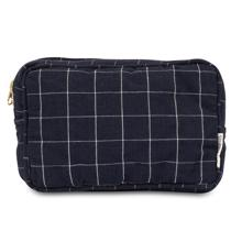studio-feder-toilettaske-toiletry-bag-navy-check-7206B