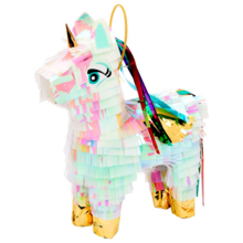 sunnylife-pinata-mini-small-unicorn-enhjoerning-party-gardenparty-udeleg-fun-leg-sjov-