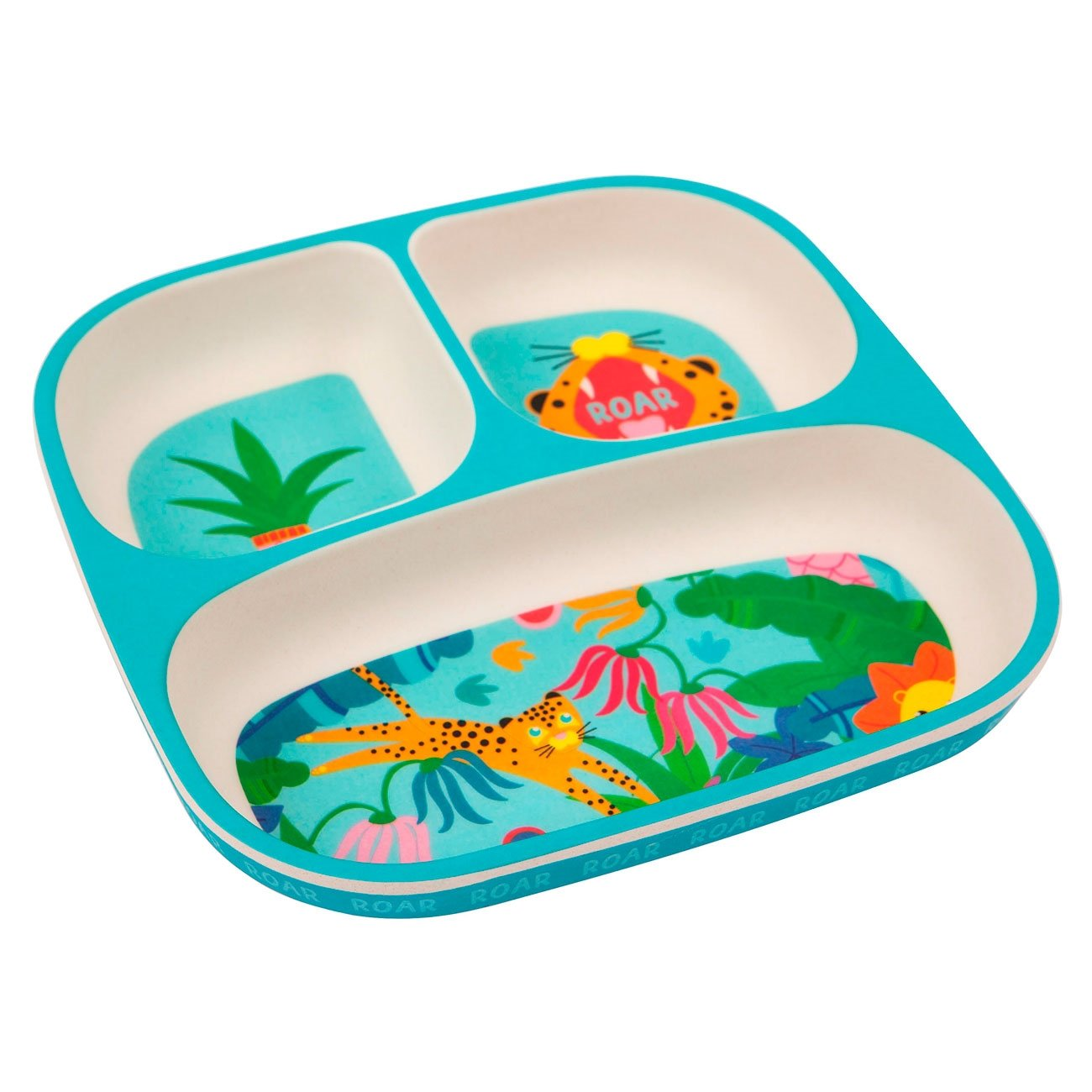 sunnylife-tallerken-eco-kids-plate-jungle-s0hplaju-1