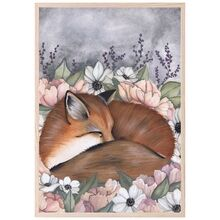 thats-mine-plakat-poster-flower-field-fox-p9015