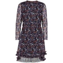 the-new-kjole-dress-print-rady-maxi-navy-blazer