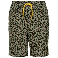the-new-ojar-sweatshorts-leopardprint-vetiver-gul-snoererbaand