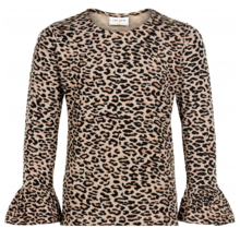 The New Lex LS Tee Leopard