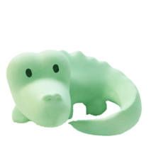 tikiri-gummidyr-krokodille-croc-green-teether-groen