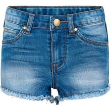 The New Agnes Denim Shorts Light Blue Denim