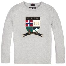 tommy-hilfiger-bluse-blouse-embroidered-shield-tee-grey-heather-KB0KB05394-P01-1