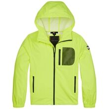 tommy-hilfiger-combi-mesh-hooded-jacket-jakke-safety-yellow-KB0KB05589-ZAA-1