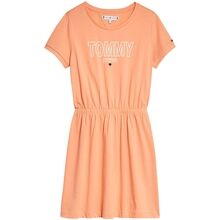 tommy-hilfiger-dress-kjole-jersey-tee-melon-orange-kg0kg05158-sc1-1
