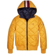 tommy-hilfiger-jacket-jakke-reversible-quilted-hooded-bomber-black-iris-golden-glow-kb0kb05493-cbk-1