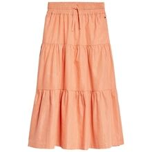 tommy-hilfiger-nederdel-skirt-long-lurex-stripe-melon-orange-kg0kg05130-sc1-1