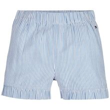 Tommy Hilfiger Ithaca Ruffle Stripe Shorts White/Calm Blue