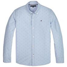 tommy-hilfiger-skjorte-shirt-dobby-clipping-detail-regatta-kb0kb05712-ci6-1