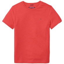 tommy-hilfiger-tee-tshirt-bluse-logo-basic-knit-red-roed-heather-1