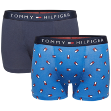 Tommy Hilfiger Boy 2-pack Trunk Mini Flag Classic Blue/Navy